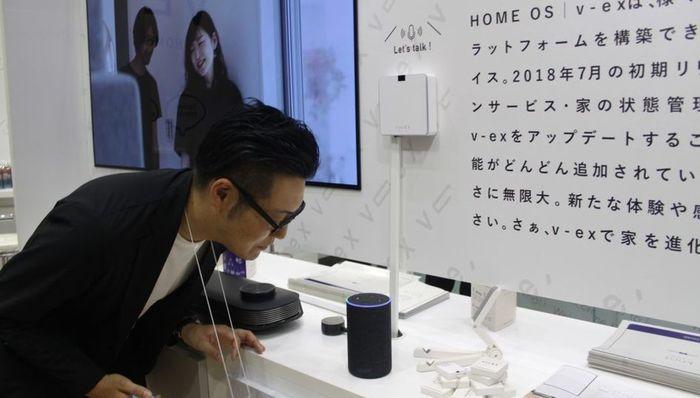 音声で家電操作ができる個人住宅用IoTシステム「v-ex」2