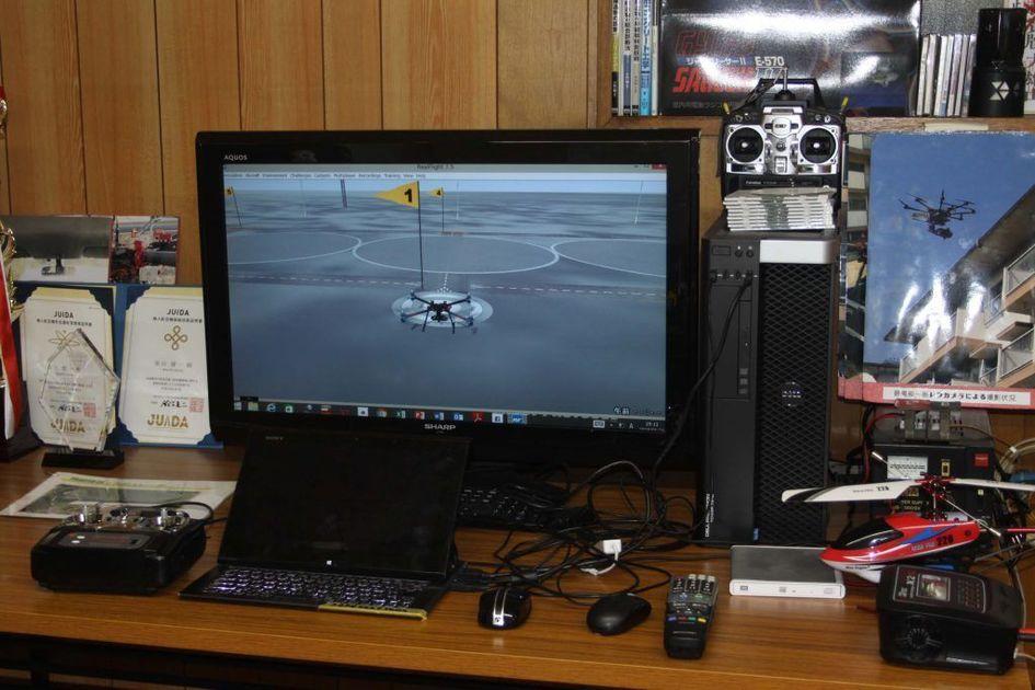 シミュレーター操縦訓練