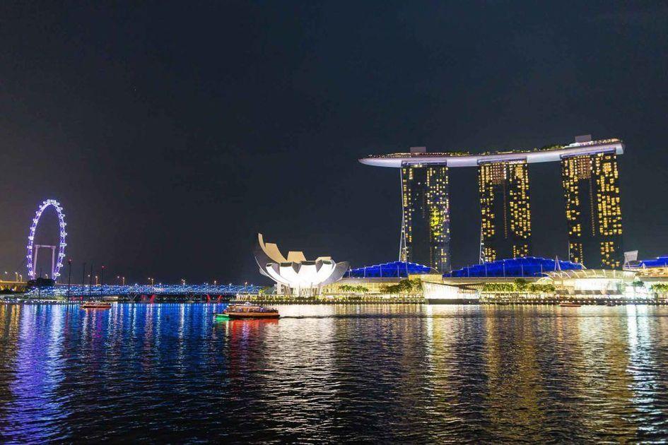 シンガポールのIRリゾート「マリーナ・ベイ・サンズ」