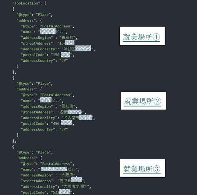 Googleしごと検索のcodeその2